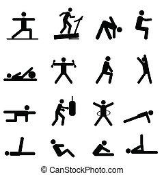 esercizio idoneità, icone