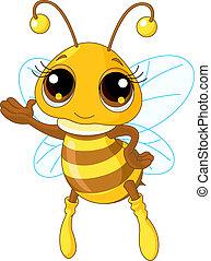 esposizione, carino, ape