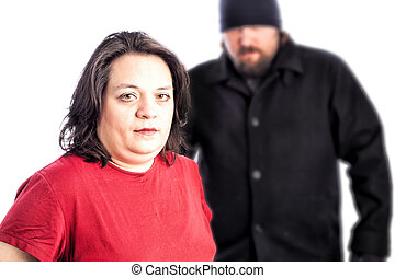 essendo, donna, assaulted