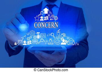 essere, testo, coinvolgere, direttamente, scrittura, significato, concern., concetto, o, relate., qualcuno, importante