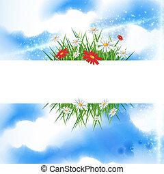 estate, bandiera