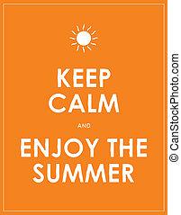 estate, moderno, motivazionale, custodire, calma, fondo, speciale