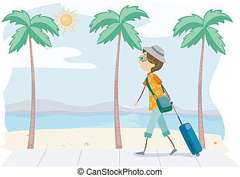 estate, viaggio