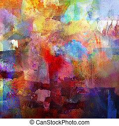 estrarre dipingere