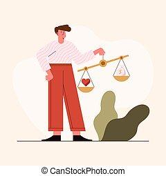 etica, equilibrio, uomo