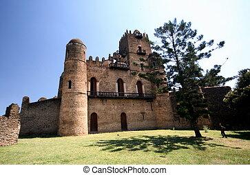 etiopia, gondar, castel