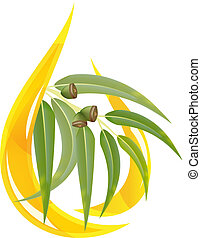 eucalipto, olio, essenziale