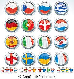 euro, gruppi, 2012