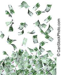 euro, volare, banconote