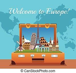europa, benvenuto