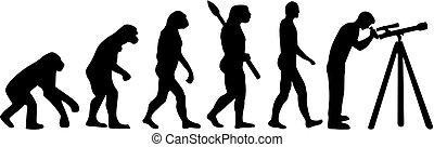 evoluzione, astronomia