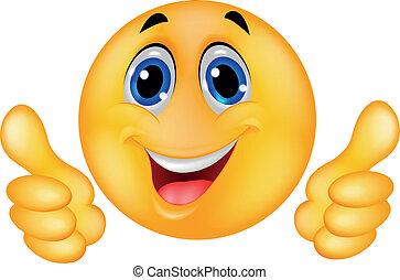 faccia felice, smiley, emoticon