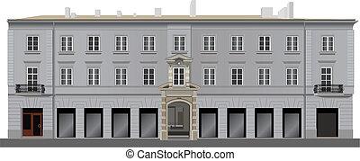 facciata, neoclassico