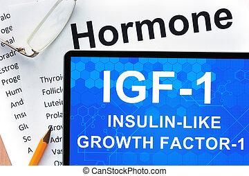 factor-1, insulin-like, igf-1, crescita