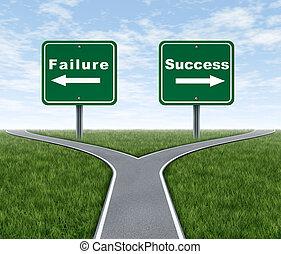 fallimento, successo