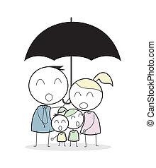 famiglia, assicurazione