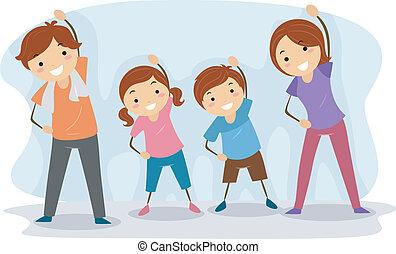 famiglia, esercizio