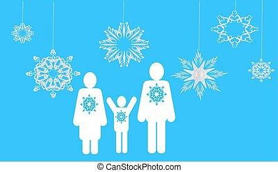 family., web, inverno, icone