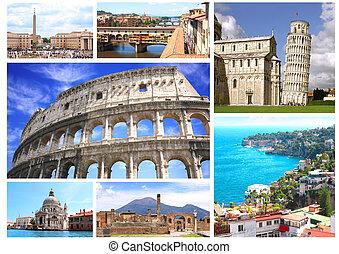 famoso, italia, locali
