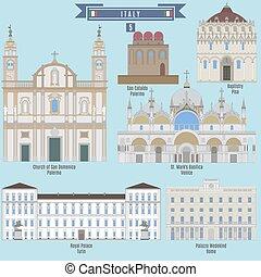 famoso, locali, italia