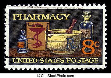 farmacia, medicina, 19 secolo