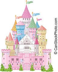 fata, castello, racconto