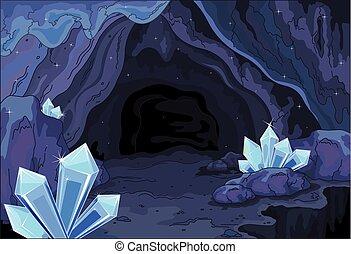 fata, caverna