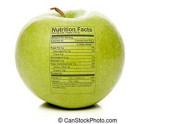 fatti, nutrizione, mela