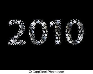 fatto, 2010, stelle, argento