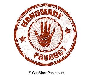 fatto mano, prodotto, francobollo