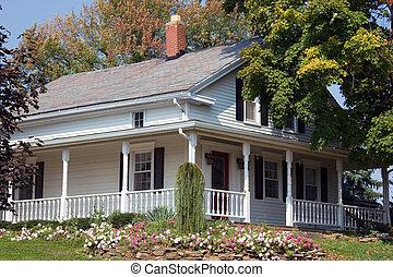 fattoria, amish, secolo