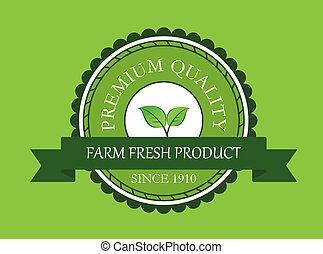fattoria fresca, etichetta prodotto