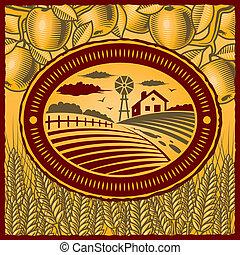 fattoria, retro