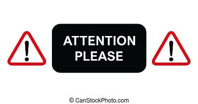 favore, importante, alert., segno, pubblicità, informazioni, avvertimento, icon., attenzione, disegno