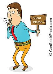 favore, silenzioso