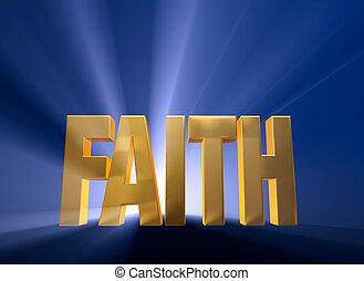 fede, albeggiare