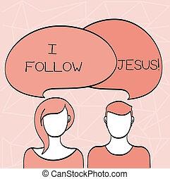 fede, amore, lotto, affari, foto, esposizione, scrittura, concettuale, spirituality., dimostrare, dio, showcasing, seguire, mano, religioso, jesus.