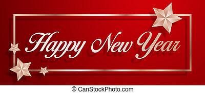 felice, anno, nuovo