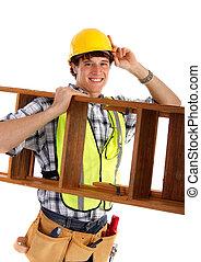 felice, carpentiere, giovane