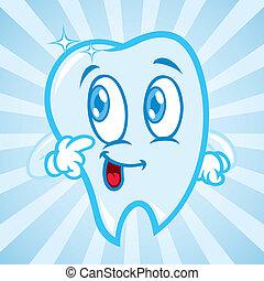 felice, denti