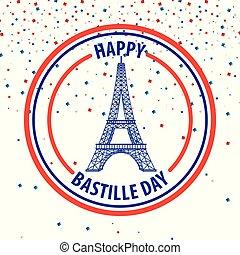 felice, giorno bastille, francia