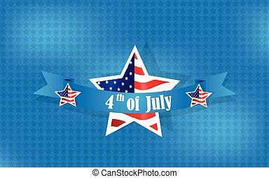 felice, giorno, fondo, indipendenza