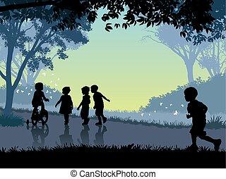 felice, infanzia, tempo