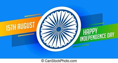 felice, moderno, giorno, fondo, indipendenza