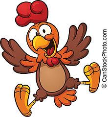 felice, pollo