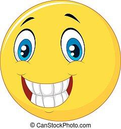 felice, smiley fronteggiano