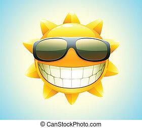 felice, sole, estate