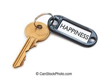 felicità, chiave