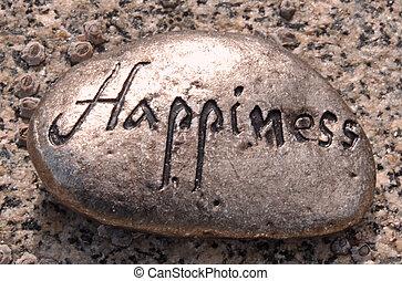 felicità, roccia