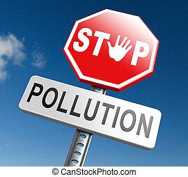 fermata, inquinamento